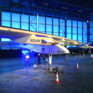 Solarimpulse 2011 in Brüssel