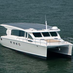 Vollständig Solargetriebene Yacht Suncat 46