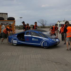 PowerCore SunCruiser in Australien Quelle: Hochschule Bochum