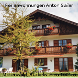 Ferienwohnungen Anton Sailer, Mittenwald