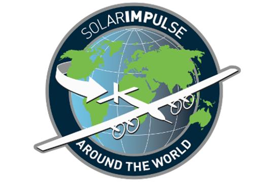 Logo Weltumrundung Solarimpulse