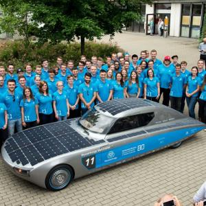 tyssenkrupp blue.cruiser ©Hochschule Bochum Solar Car Team